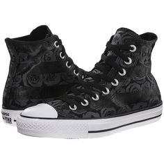 Converse Chuck Taylor All Star Rose Print Hi Women's Lace up casual... ($60) ❤ liked on Polyvore featuring shoes, sneakers, converse, diamond shoes, converse shoes, lace up sneakers, lacing sneakers and metallic high top sneakers