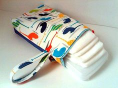 Diaper changing clutch.
