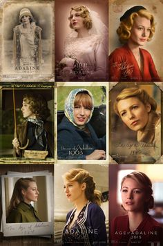Blake lively is such a great actress and played this part flawlessly. Blake lively is such a great actress and played this part flawlessly. Blake Lively, Für Immer Adaline, Age Of Adaline, Harrison Ford, Fashion Mode, Film Fashion, Gossip Girls, Mode Vintage, Vintage Hairstyles