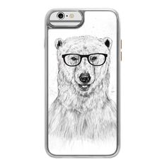 iPhone 7 Plus/7/6 Plus/6/5/5s/5c Case - Geek bear ($45) ❤ liked on Polyvore featuring accessories, tech accessories, iphone case, apple iphone case, iphone cover case, transparent iphone case, iphone cases and glitter iphone case