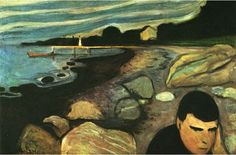 1891 - Melancholy, The yellow boat