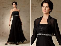 Caterina Mother of the Bride Full Chiffon Dress