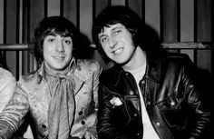 Keith Moon and John Entwistle