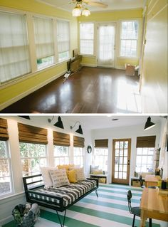 Fixer Upper Daybed MattressBack PorchesEnclosed PorchesSunroom PlayroomSunroom OfficeSunroom AdditionHouse PorchFarm HouseBlue Houses
