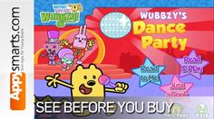 Wubbzys Dance Party by Cupcake Digital [ages: 2+, iPad, iPhone, Android]