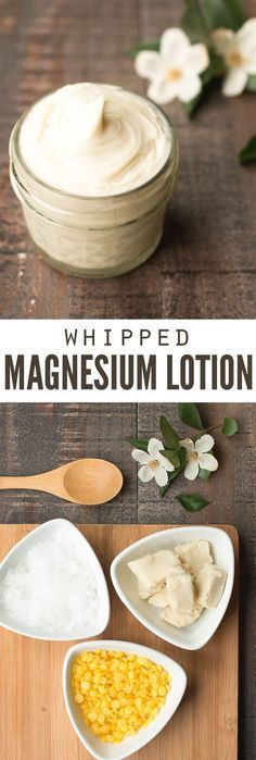 This magnesium lotion is a miracle worker. I sleep better, have less anxiety and I\'m happier to be around too! The recipe is incredibly easy and ready in just 15 minutes! :: DontWastetheCrumb...