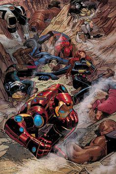 Avengers by John Romita Jr.