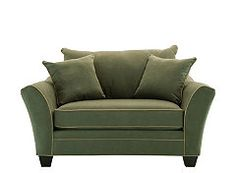 Briarwood Microfiber Chair-and-a-Half.. redesigning living room