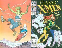 Classic X-Men # 31 by Steve Lightle/ John Bolton