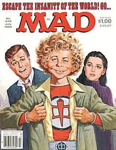 Greatest American Hero. MAD magazine