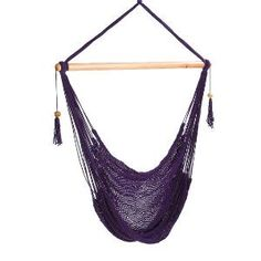 Purple Hammock Chair by veronicacolindres on Etsy