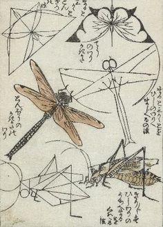 [ Insects Woodblock Print by Katsushika Hokusai ] Japanese Prints, Japanese Art, Japanese Drawings, Katsushika Hokusai, Art Japonais, Insect Art, Nature Illustration, Japanese Painting, Art Graphique