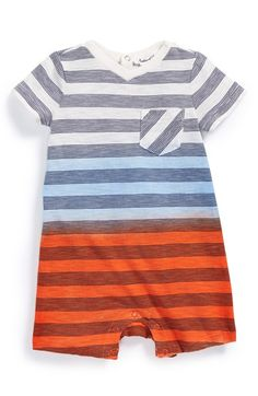 Splendid+Classic+Stripe+V-Neck+Romper+(Baby+Boys)+available+at+#Nordstrom