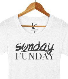 68602ea4dcb Sunday Funday Tee from Luciana Alliteration