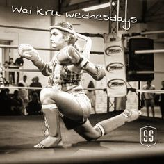 #waikruwednesday dedicated to this little tiger. Patricia only at 14 years old has got a bright future in the sport. Here she is performing her #waikru at the last #mitsubishicup event in Pickering. #forceofateam #thai #culture #muaythai #fight #thaiboxing #match #toronto #canadian #athlete #female #warrior #nakmuay #southside