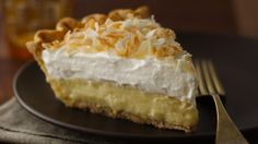 Try this version of an all-time favorite coconut pie! It certainly made the grade at a state fair pie competition.