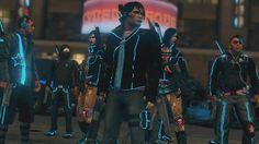 Saints Row 3 - Deckers and Matt Miller Saints Row 4, Star Eyes, Cybergoth, Make Money Blogging, The Row, Video Games, Shadowrun, Funny Pins, Cyberpunk