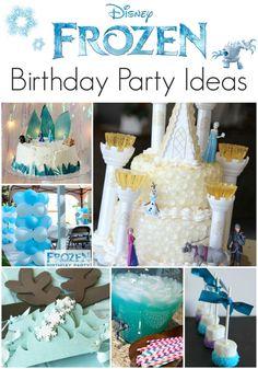 21 Disney Frozen Birthday Party Ideas - Including a Beautiful Frozen Birthday Cake! - I am THAT Lady Disney Frozen Birthday, Frozen Party, Frozen Kids, Frozen Theme, 3rd Birthday Parties, Diy Birthday, Birthday Ideas, Turtle Birthday, Turtle Party