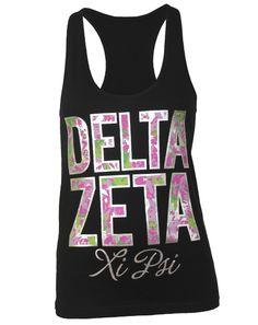 Delta Zeta, OUR BID DAY SHIRTS! :) thank you Adam block!