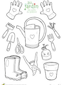backyard designs – Gardening Ideas, Tips & Techniques Coloring Sheets For Kids, Colouring Pages, Free Coloring, Coloring Books, Spring Activities, Activities For Kids, Daycare Themes, Kids Room Wallpaper, Colorful Garden