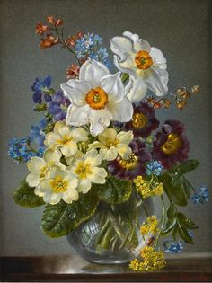 Cecil Kennedy [1905-1997] was a painter in oils who specialised in flowers…
