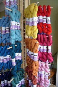 yarn display