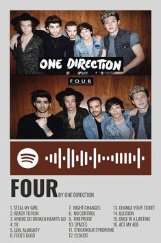 One Direction Room, One Direction Albums, One Direction Posters, One Direction Wallpaper, One Direction Pictures, 1d Songs, Album Songs, Musica Spotify, 1d Albums