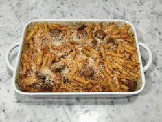 I was having friends over during the week and was looking for a quick and easy dish that I could make after work. I wanted something I co. Pasta Bake, Italian Style, Lasagna, Macaroni And Cheese, Dinner Ideas, Cactus, Pork, Dishes, Baking