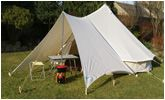 Glamping - Bell Tent Canopy