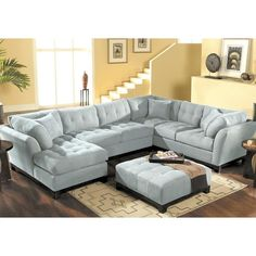 I like this couch because it would fit a lot of people. I also like the color.