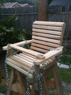 Baby Swing all Cypress Solid Wood