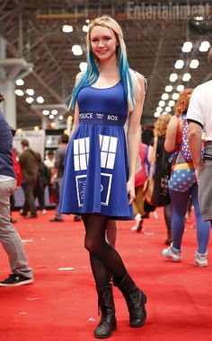 This is the only tardis dress that I could see myself wearing in real life