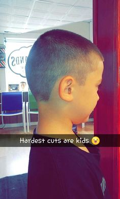 Kids can deffinitely be hard to cut 😤 Barber, Canning, Kids, Men, Young Children, Children, Home Canning, Kid, Children's Comics