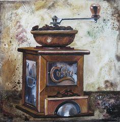 molinillo de café- Bebidas e Infusiones..elena kashnikova