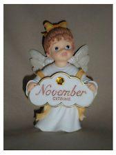 precious moments november birthstone angel figurines - Google Search