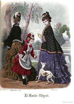 Le Monde Elégant 1874 November