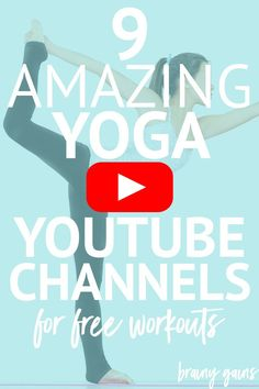 Did you know there's yoga for weight loss, yoga for flexibility, yoga for fat burning, and yoga for just about anything? These 9 yoga YouTube channels are great for beginners looking to take up yoga and want variety in the workouts they do.