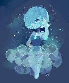 perla azul steven universe anime - Buscar con Google                                                                                                                                                      Más