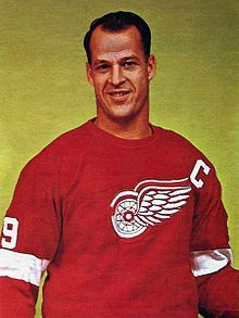 "Gordon ""Gordie"" Howe, OC (March 31, 1928 – June 10, 2016) was a Canadian professional ice hockey player. From 1946 to 1980, he played twenty-six seasons in the National Hockey League (NHL) and six seasons in the World Hockey Association (WHA); his first 25 seasons were spent with the Detroit Red Wings. Nicknamed ""Mr. Hockey"", Howe is considered the most complete player to ever play the game and one of the greatest ice hockey players of all time"