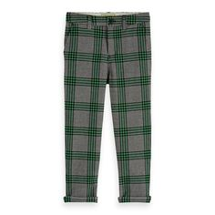 RUITJES TREND! #scotchsoda #broek #jongens #boyslook #ruitjes #groen #fashion #trend Kid Styles, Scotch, Pajama Pants, Pajamas, Branding, Hoodie, Sweater, Classic, Kids