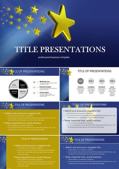 EU stars PowerPoint templates