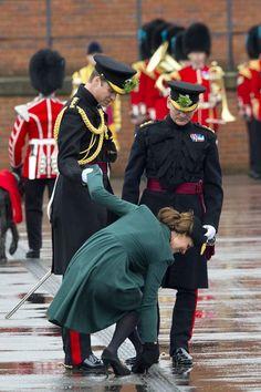 Kate Middleton on St. Patrick's Day 2013 | Pictures | POPSUGAR Celebrity