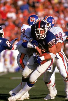 Giants (Mark Bavaro #89) vs Denver Super Bowl XXI January 25, 1987