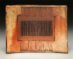 Slab Plate by Suze Lindsay. Take a fine arts workshop at CMA this summer! http://www.cullowheemountainarts.org/