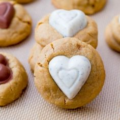 Peanut Butter Sweethearts by sallysbakeblog