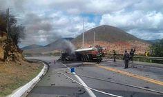 NONATO NOTÍCIAS: Colisão entre caminhão e carro de passeio deixa tr...
