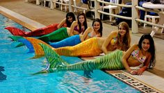 To be young again and to really be Ariel 3-Fins custom mermaid tails.