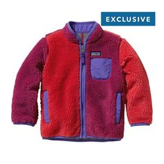 Patagonia Baby Limited Edition Retro-X\u00AE Jacket - Red Delicious RDS