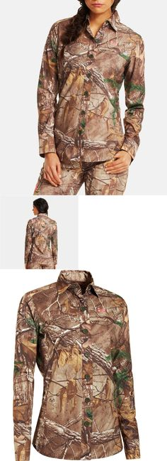Shirts and Tops 177874: New $80 Under Armour Women Xl Performance Field Camo Hunting Shirt Realtree -> BUY IT NOW ONLY: $37.08 on eBay!
