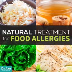 Natural Treatment for Food Allergies http://www.draxe.com #health #holistic #natural